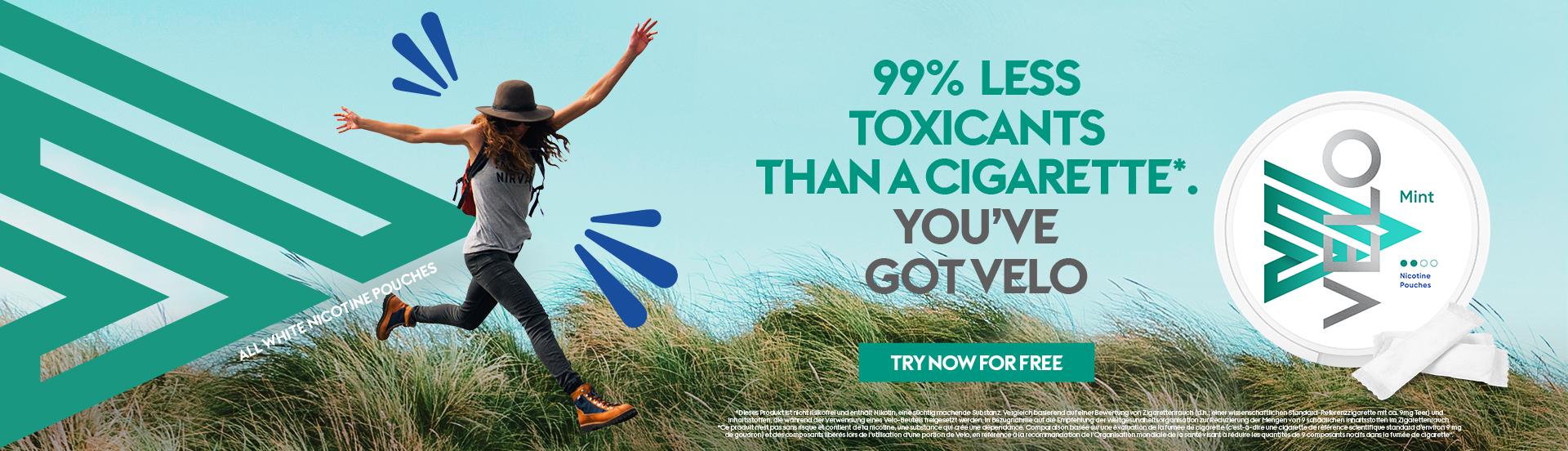less toxic